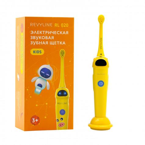 Звуковая зубная щётка Revyline RL 020 Kids, Yellow